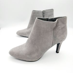 Alex Marie size 9 gray suede booties